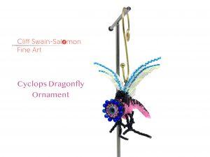 Cyclops Dragonfly Ornament