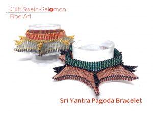 Sri Yantra Pagoda Bracelet